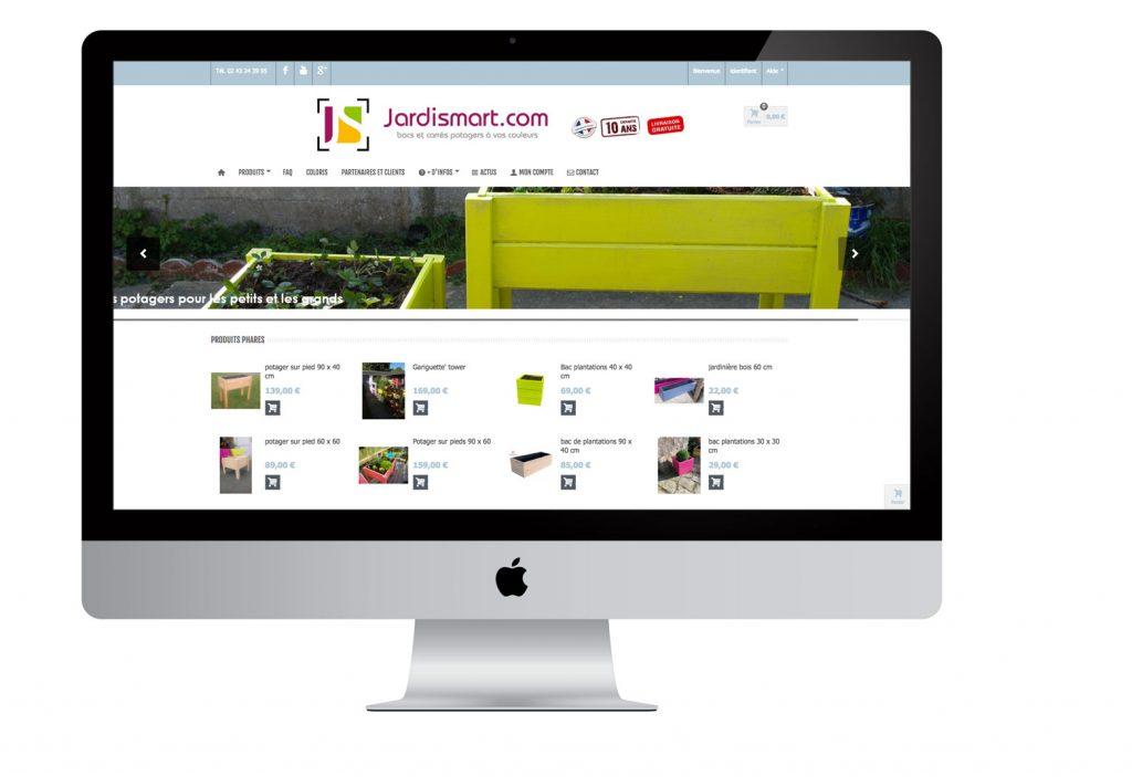Site e-commerce, boutique en ligne