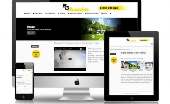 Site internet Le Mans - Sarthe