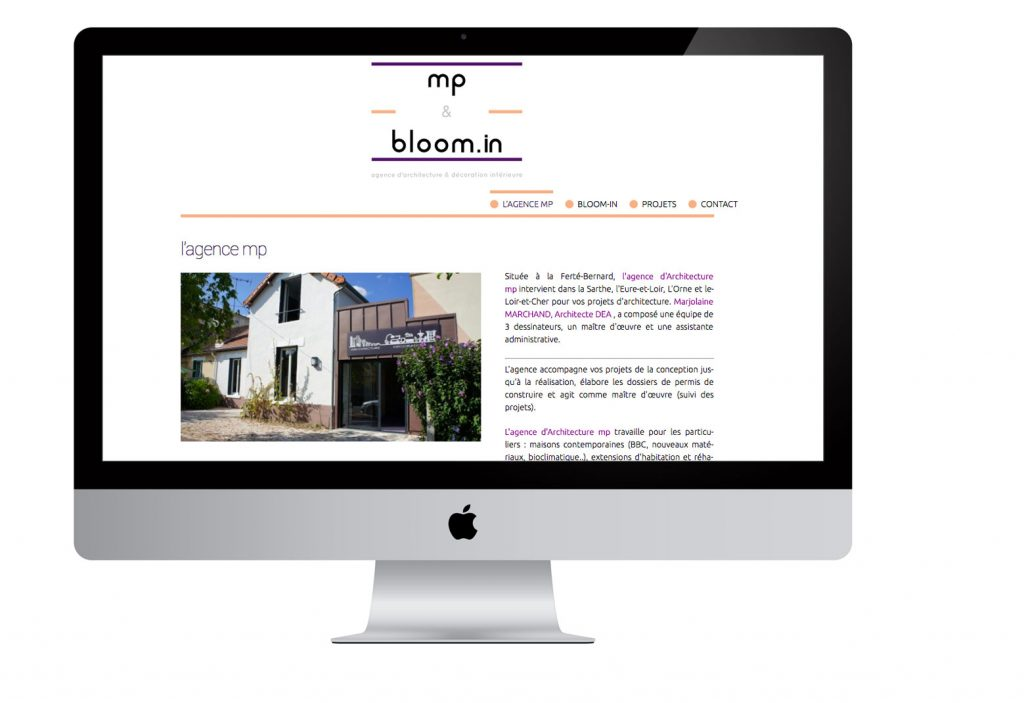 Pointcom création site portfolio Sarthe
