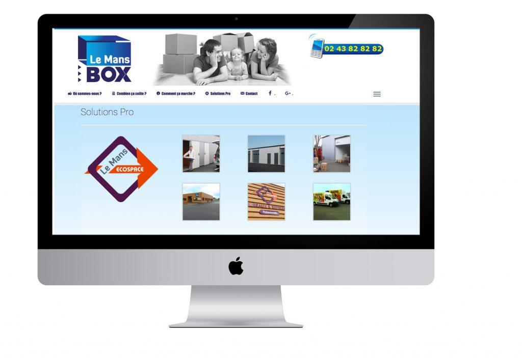 Pointcom création site présentation au Mans